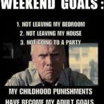 Long Weekend Goals