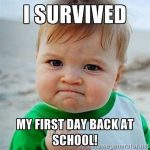 Back to School – Survived it!  905business.com